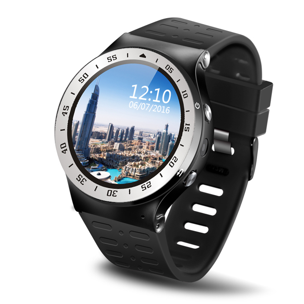 S99A 3G Smartwatch Telefon 1.33 &39;&39; Android 5.1 MTK6580 Quad Core 1.0 GHz 8 GB ROM 2.0MP Kamera WiFi Bluetooth Akıllı Izle PK KW88